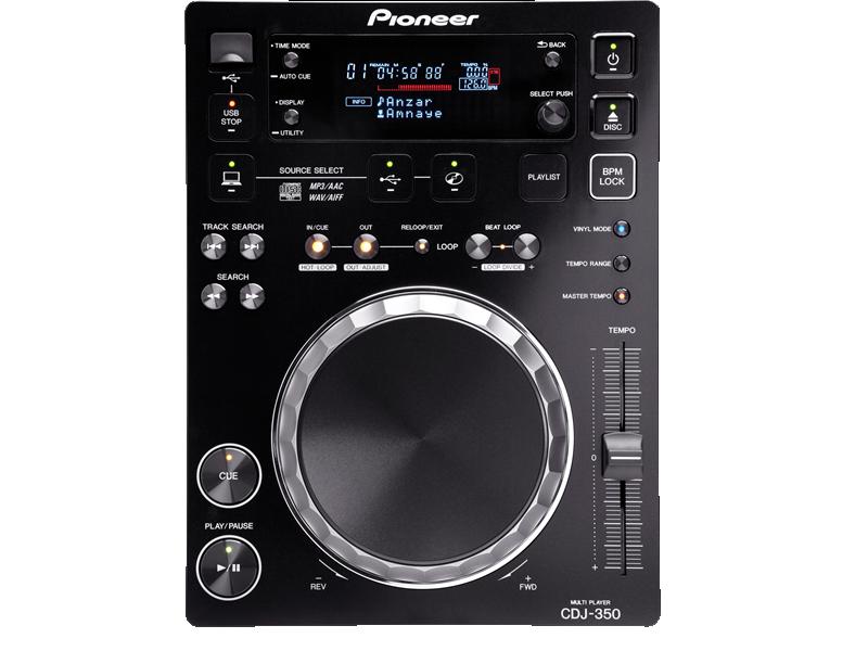 CD/USB Mediaspeler Pioneer CDJ 350